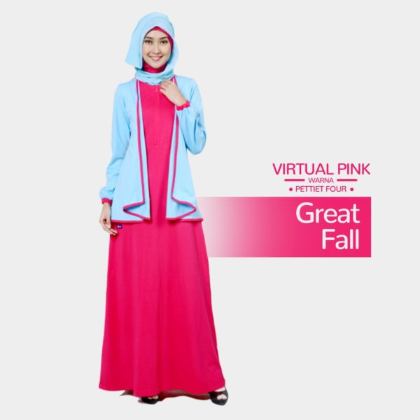 Gamis Mutif 152_Virtual Pink - Petiet Four