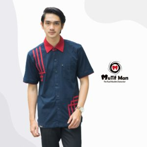 Koko Mutif Man 23_Biru Navy - Rio Red (1)